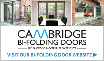 Cambridge Bi-folding Doors website panel