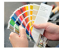 Paxtons blinds colours