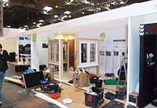 Paxtons exhibition build-up